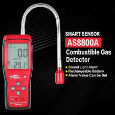 Gas Detector <b>AS8800A Combustible Natural Portable</b> Gas Leak ...