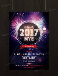 get new years eve 2017 party psd template flyer flyershitter com new years eve 2017 party template flyer psd