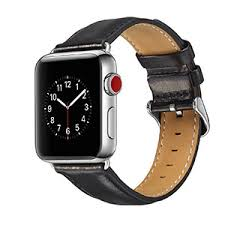 Luxury First Layer Cow <b>Genuine leather band</b> for Apple watch ...