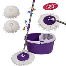 <b>1PC</b> 360 Degree Rotating <b>Microfiber Mop</b> Head Kitchen Bathroom ...