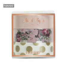 <b>NEVER Rose</b> Series washi paper tape decorative stickers 3 rolls ...