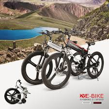 <b>Samebike lo26 26 Inch</b> Folding Electric Bike Power Assist Electric ...