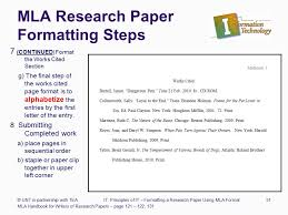 research paper format SlidePlayer