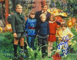 willy wonka the chocolate factory psa autographfacts willy wonka the chocolate factory