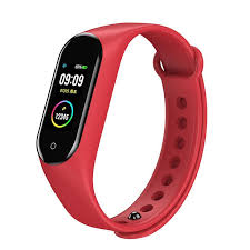 <b>Bakeey M4V</b> Custom Dials Full Touch Screen Heart Rate Blood ...