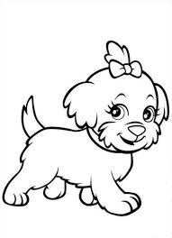 Small Picture Cute Dogs To Colour In Puppy Dog Coloring Page Gif Pages Maxvision