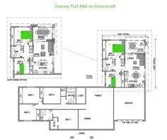 Granny flat  House plans and Flats on Pinteresthouse   granny flat plans   Google Search