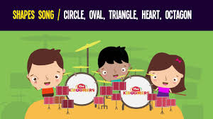 Shapes Song for Kids | <b>Circle Oval Triangle</b> Heart Octagon | The ...