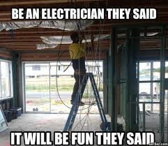 Electrician MEME | He he he! | Pinterest | Melbourne, Meme and Wire via Relatably.com