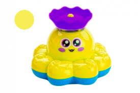 <b>Игрушка</b> детская для ванны «<b>ФОНТАН</b>-<b>ОСЬМИНОЖКА</b>» желтый ...