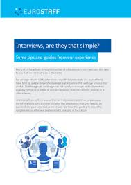 eurostaff interview guides