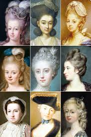 18th century hair styles hair 18th century w 39 s hairstyles a collection of the vine thimble