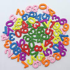<b>100 Pcs Colorful</b> Wooden Numbers Math Toys Kids Montessori ...