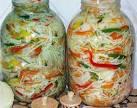 Рецепт салата с капустой консервирование