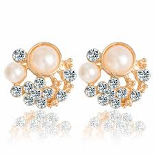 Hot <b>New</b> Trends 2018 <b>Fashion Korea</b> Flower Stud <b>Earrings</b> Austrian ...