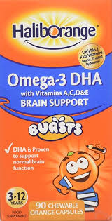 Haliborange Kids Omega-3 Chewy Orange, 90 Tablets: Amazon.co ...