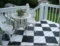 awesome white deck paint 13 black and white painted deck awesome black painted