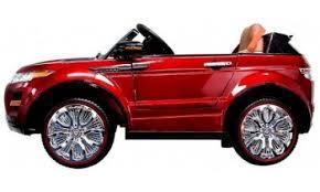 Детский <b>электромобиль Range Rover</b> Luxury Red MP4 12V ...