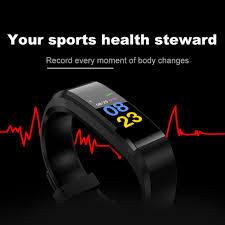 Waterproof Fitness Running Pedometer Health Watches Step ...