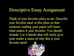 Describe your favorite place essay  NeSA Writing Grade   Scoring Sample   Nebraska Department