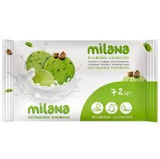 <b>Влажные салфетки GRASS Milana</b> Фисташковое мороженое ...