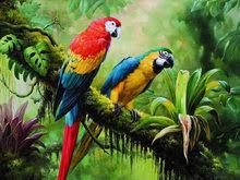 cross stitch <b>parrot</b>