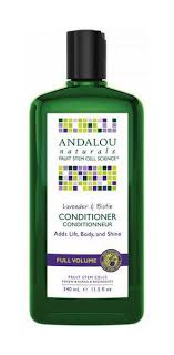 <b>Lavender</b> and <b>Biotin Full</b> Volume Conditioner in 340ml from Andalou ...