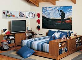 cool teenage boy bedroom design ideas with wooden bed mattress and pillows also headboard bedroom bedroom medium bedroom furniture teenage boys