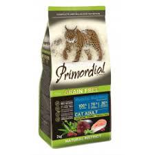Отзывы о <b>Сухой корм</b> для кошек <b>Primordial</b> с тунцом