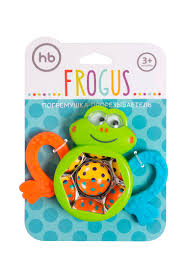 <b>Happy Baby</b> Игрушка-<b>погремушка</b> FROGUS: цвет Цвет, 299 ...