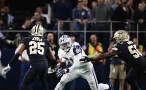 Cowboys RB Ezekiel Elliott faces a Saints defense that hasn't ...