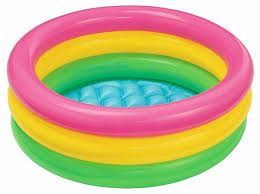 <b>Детский бассейн Intex</b> Sunset Glow Baby 57107 — купить по ...