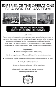 vacancies galle face hotel description