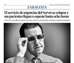 GONZÁLEZ SE VA Pero, si sorprendente ha sido la destitución de los directores, todavía lo es más la marcha de Mario González, gerente del sector II de ... - mario-gonzalez-urgencias-del-servet-se-colapsa-hoyzaragoza-pag-10