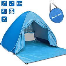 AUGYMER <b>Pop Up Beach Tent</b>, UV <b>Portable</b> 2-3 Person <b>Folding</b> ...