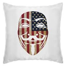 Подушка <b>USA Anonymous</b> #1205462 в Москве – печать фото на ...