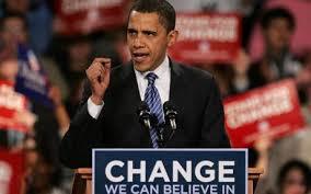 Image result for obama change campaign 2008