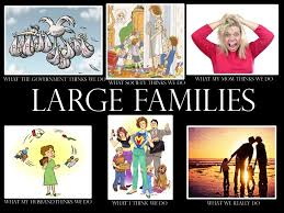 Large Families Funny & Unusual Family Stories – Not Always Related via Relatably.com