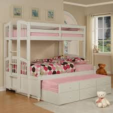 white furniture cool bunk beds: teens bedroom teenage girl ideas with bunk beds laminate flooring for white pink mattress i furniture