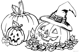 Small Picture Cute Halloween Coloring Pages Pumpkin Coloring Coloring Coloring
