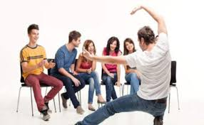 Image result for teen group charades image