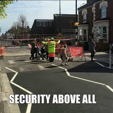 Security Memes. Best Collection of Funny Security Pictures via Relatably.com
