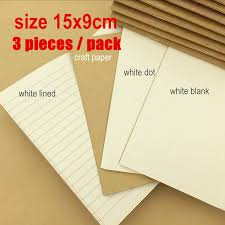 online buy whole white paper journal from white paper travelers travel diary notebook notepad 15 x 9cm handy type cowhide white blank paper replacement inner