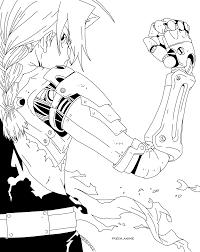 fullmetal alchemist on manga line