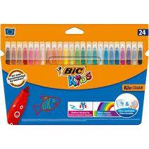 <b>Фломастеры цветные BIC</b> Kid Couleur смываемые 24 цвета 24 шт
