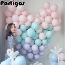 <b>100pcs 10inch</b> Latex Balloon <b>Macaron Color</b> Wedding Decoration ...