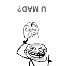 OMG LMAO!!!!!!! Troll face gif (click it - it moves) #meme | Memes ... via Relatably.com
