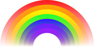 Image result for what colours are in the rainbow