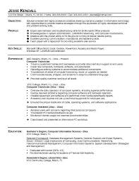 computer technician resume samples computer technician resume sterile processing technician resume example