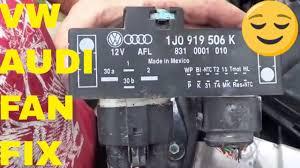 VW/Audi Fan Relay <b>Cooling</b> Fan Control Unit Module Relay - YouTube